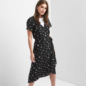GAP Floral Wrap Maxi Dress - NWT!!!